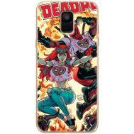 Силиконовый чехол BoxFace Samsung A600 Galaxy A6 2018 Deadpool and Mary Jane (33376-up2454)