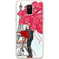 Силиконовый чехол BoxFace Samsung A600 Galaxy A6 2018 Love in Paris (33376-up2460)