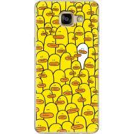 Силиконовый чехол BoxFace Samsung A710 Galaxy A7 Yellow Ducklings (24498-up2428)