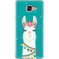 Силиконовый чехол BoxFace Samsung A710 Galaxy A7 Cold Llama (24498-up2435)