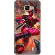 Силиконовый чехол BoxFace Samsung A710 Galaxy A7 Woman Deadpool (24498-up2453)