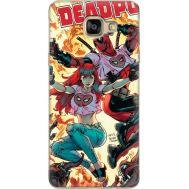 Силиконовый чехол BoxFace Samsung A710 Galaxy A7 Deadpool and Mary Jane (24498-up2454)