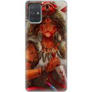 Силиконовый чехол BoxFace Samsung A715 Galaxy A71 Принцесса Мононоке (38850-up2451)