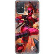 Силиконовый чехол BoxFace Samsung A715 Galaxy A71 Woman Deadpool (38850-up2453)