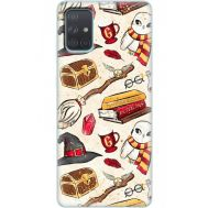 Силиконовый чехол BoxFace Samsung A715 Galaxy A71 Magic Items (38850-up2455)