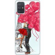 Силиконовый чехол BoxFace Samsung A715 Galaxy A71 Love in Paris (38850-up2460)