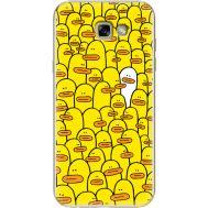 Силиконовый чехол BoxFace Samsung A720 Galaxy A7 2017 Yellow Ducklings (27930-up2428)