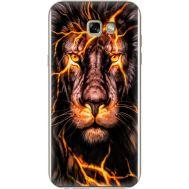 Силиконовый чехол BoxFace Samsung A720 Galaxy A7 2017 Fire Lion (27930-up2437)