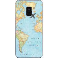 Силиконовый чехол BoxFace Samsung A730 Galaxy A8 Plus (2018) Карта (32658-up2434)