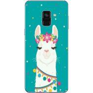 Силиконовый чехол BoxFace Samsung A730 Galaxy A8 Plus (2018) Cold Llama (32658-up2435)