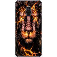 Силиконовый чехол BoxFace Samsung A730 Galaxy A8 Plus (2018) Fire Lion (32658-up2437)