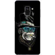 Силиконовый чехол BoxFace Samsung A730 Galaxy A8 Plus (2018) Rich Monkey (32658-up2438)