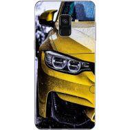 Силиконовый чехол BoxFace Samsung A730 Galaxy A8 Plus (2018) Bmw M3 on Road (32658-up2439)