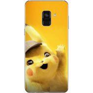 Силиконовый чехол BoxFace Samsung A730 Galaxy A8 Plus (2018) Pikachu (32658-up2440)