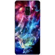 Силиконовый чехол BoxFace Samsung A730 Galaxy A8 Plus (2018) Northern Lights (32658-up2441)