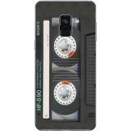 Силиконовый чехол BoxFace Samsung A730 Galaxy A8 Plus (2018) Старая касета (32658-up2445)