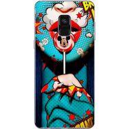 Силиконовый чехол BoxFace Samsung A730 Galaxy A8 Plus (2018) Girl Pop Art (32658-up2444)