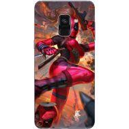 Силиконовый чехол BoxFace Samsung A730 Galaxy A8 Plus (2018) Woman Deadpool (32658-up2453)
