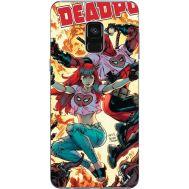 Силиконовый чехол BoxFace Samsung A730 Galaxy A8 Plus (2018) Deadpool and Mary Jane (32658-up2454)