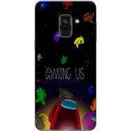 Силиконовый чехол BoxFace Samsung A730 Galaxy A8 Plus (2018) Among Us (32658-up2456)