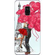 Силиконовый чехол BoxFace Samsung A730 Galaxy A8 Plus (2018) Love in Paris (32658-up2460)