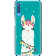 Силиконовый чехол BoxFace Samsung A750 Galaxy A7 2018 Cold Llama (35481-up2435)