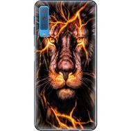 Силиконовый чехол BoxFace Samsung A750 Galaxy A7 2018 Fire Lion (35481-up2437)