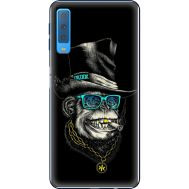 Силиконовый чехол BoxFace Samsung A750 Galaxy A7 2018 Rich Monkey (35481-up2438)