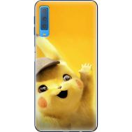 Силиконовый чехол BoxFace Samsung A750 Galaxy A7 2018 Pikachu (35481-up2440)