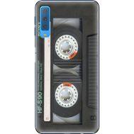 Силиконовый чехол BoxFace Samsung A750 Galaxy A7 2018 Старая касета (35481-up2445)