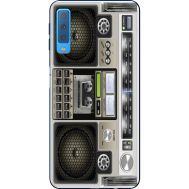 Силиконовый чехол BoxFace Samsung A750 Galaxy A7 2018 Old Boombox (35481-up2446)