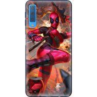 Силиконовый чехол BoxFace Samsung A750 Galaxy A7 2018 Woman Deadpool (35481-up2453)