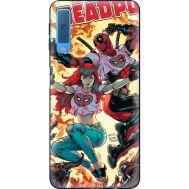 Силиконовый чехол BoxFace Samsung A750 Galaxy A7 2018 Deadpool and Mary Jane (35481-up2454)