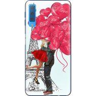 Силиконовый чехол BoxFace Samsung A750 Galaxy A7 2018 Love in Paris (35481-up2460)