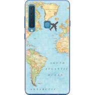 Силиконовый чехол BoxFace Samsung A920 Galaxy A9 2018 Карта (35645-up2434)