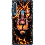 Силиконовый чехол BoxFace Samsung A920 Galaxy A9 2018 Fire Lion (35645-up2437)