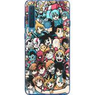 Силиконовый чехол BoxFace Samsung A920 Galaxy A9 2018 Anime Stickers (35645-up2458)