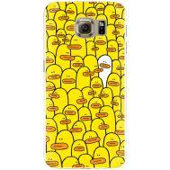 Силиконовый чехол BoxFace Samsung G925 Galaxy S6 Edge Yellow Ducklings (26304-up2428)