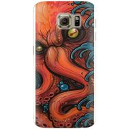 Силиконовый чехол BoxFace Samsung G925 Galaxy S6 Edge Octopus (26304-up2429)