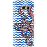 Силиконовый чехол BoxFace Samsung G925 Galaxy S6 Edge Sea Tentacles (26304-up2430)