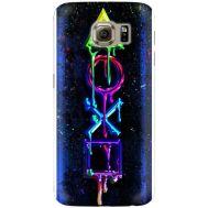 Силиконовый чехол BoxFace Samsung G925 Galaxy S6 Edge Graffiti symbols (26304-up2432)