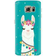 Силиконовый чехол BoxFace Samsung G925 Galaxy S6 Edge Cold Llama (26304-up2435)