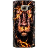 Силиконовый чехол BoxFace Samsung G925 Galaxy S6 Edge Fire Lion (26304-up2437)