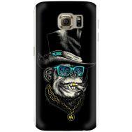 Силиконовый чехол BoxFace Samsung G925 Galaxy S6 Edge Rich Monkey (26304-up2438)