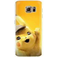 Силиконовый чехол BoxFace Samsung G925 Galaxy S6 Edge Pikachu (26304-up2440)