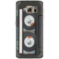 Силиконовый чехол BoxFace Samsung G925 Galaxy S6 Edge Старая касета (26304-up2445)