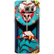 Силиконовый чехол BoxFace Samsung G925 Galaxy S6 Edge Girl Pop Art (26304-up2444)