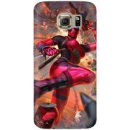 Силиконовый чехол BoxFace Samsung G925 Galaxy S6 Edge Woman Deadpool (26304-up2453)