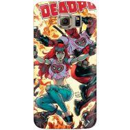 Силиконовый чехол BoxFace Samsung G925 Galaxy S6 Edge Deadpool and Mary Jane (26304-up2454)