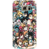 Силиконовый чехол BoxFace Samsung G925 Galaxy S6 Edge Anime Stickers (26304-up2458)